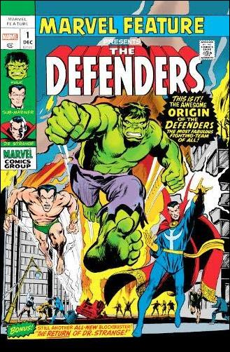 Defenders Omnibus 1-A by Marvel