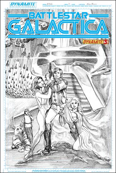 Battlestar Galactica (2013) 3-B by Dynamite Entertainment