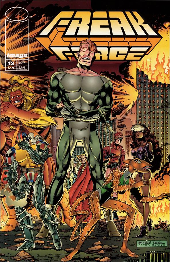 Freak Force (1993) 13-B by Image