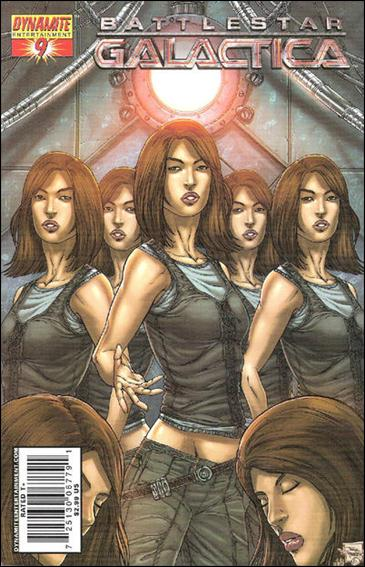 Battlestar Galactica (2006) 9-C by Dynamite Entertainment