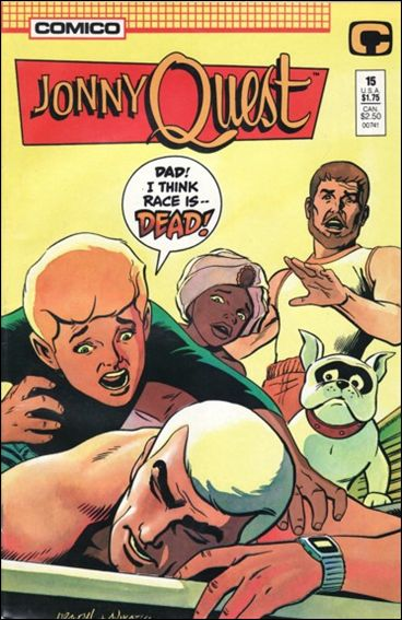 Jonny Quest (1986) 15-A by Comico