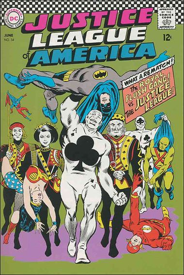 Justice League of America (1960) 54-A by DC