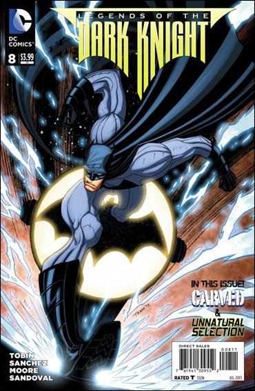 Legends of the Dark Knight 8-A by DC