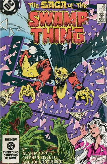 Saga of the Swamp Thing 27-A by DC