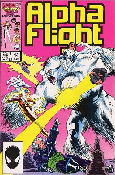 Alpha Flight (1983) 44-A by Marvel