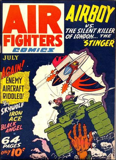Air Fighters Comics (1941) 10-A by Hillman