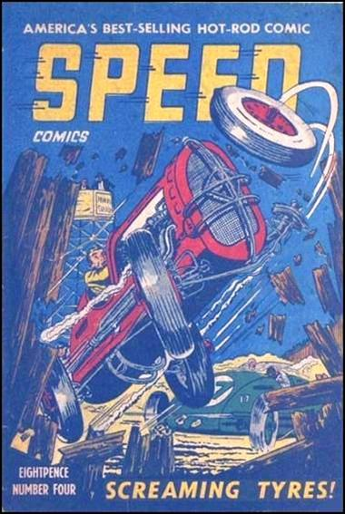 Speed Comics (Australia) 4-A by Transport Publishing
