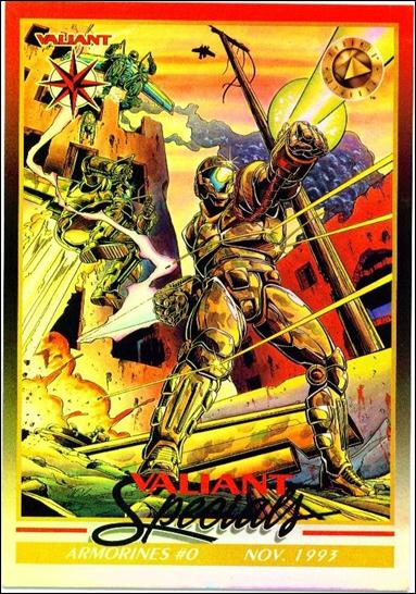 Valiant Era: Series 2 (Oversize Box Topper Subset) OS8-A by Upper Deck
