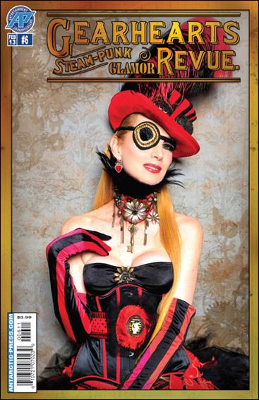 Gearhearts Steampunk Glamor Revue 6-A by Antarctic Press