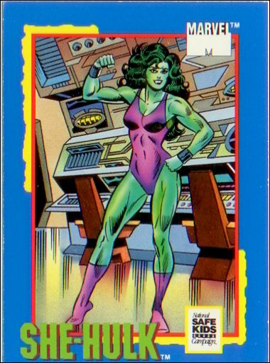 Trading Card Treats (Marvel Subset) nn-4-A by Impel