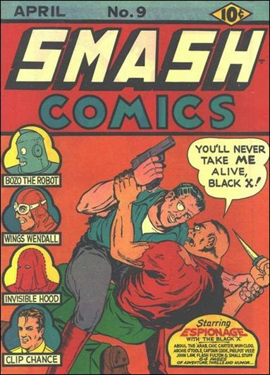 Smash Comics (1939) 9-A by Quality