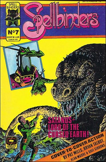 Spellbinders (1986) 7-A by Quality Comics