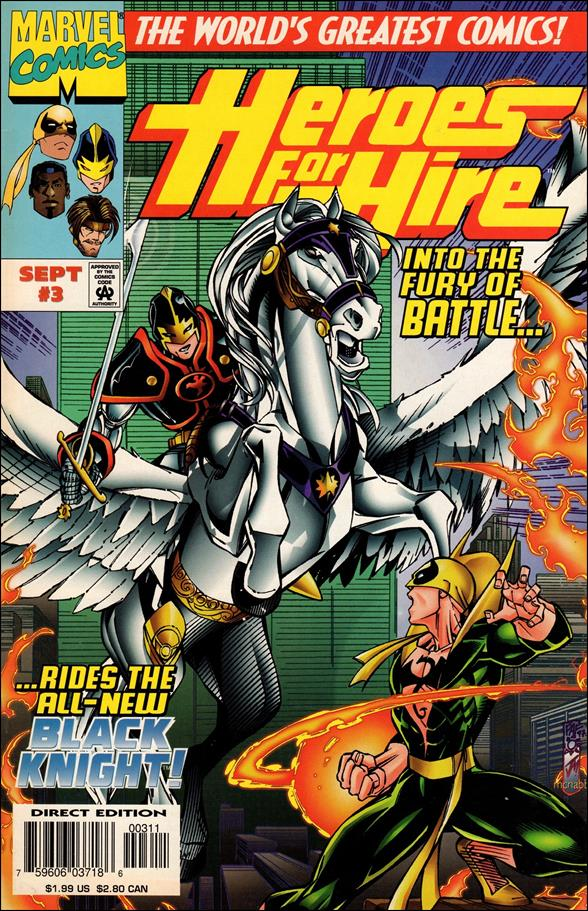 Heroes for Hire (1997) 3-A by Marvel