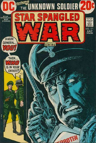 Star Spangled War Stories (1952) 171-A by DC