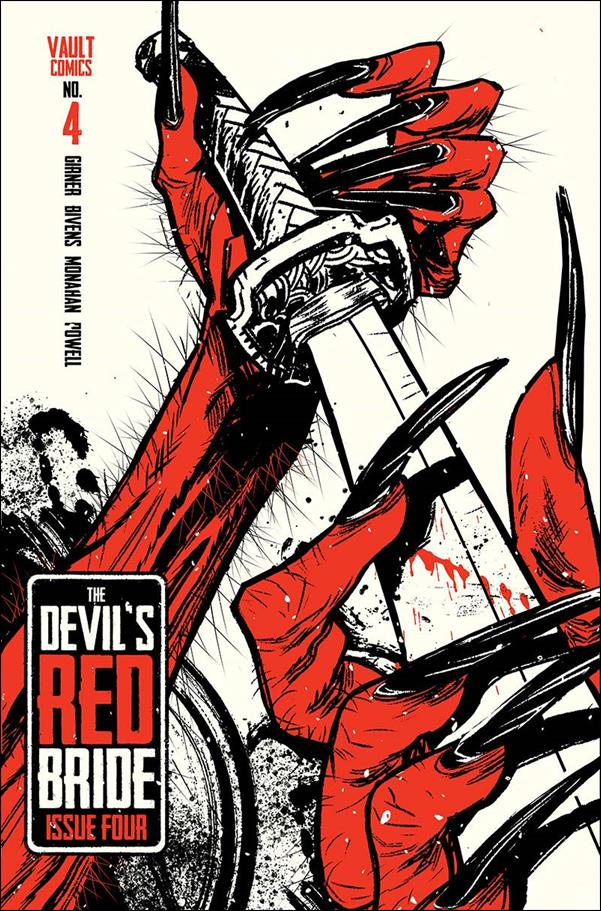 Devil's Red Bride 4-B by Vault Comics