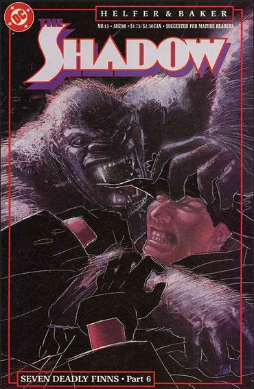 Shadow (1987) 13-A by DC