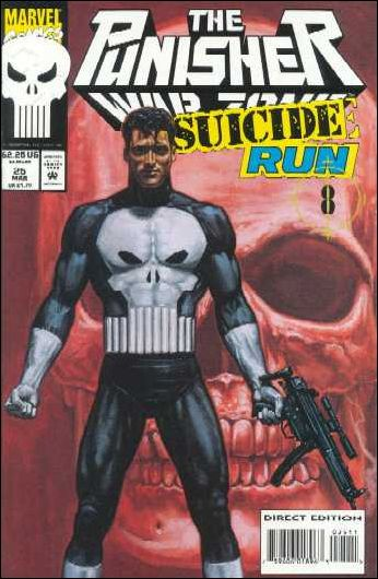 Punisher: War Zone (1992) 25-A by Marvel