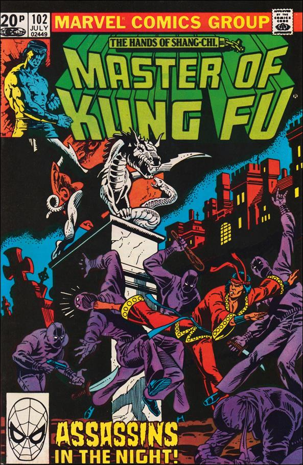 Master of Kung Fu 102-B by Marvel