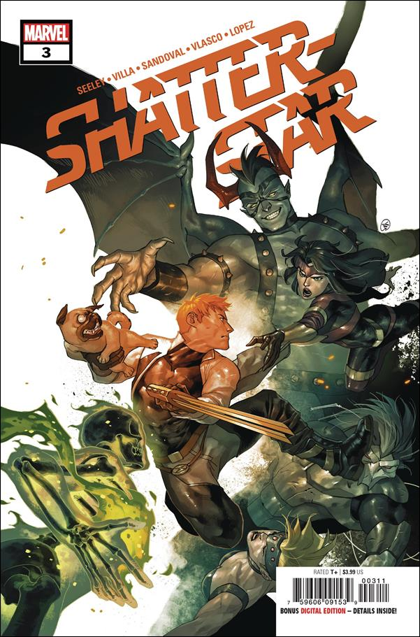 Shatterstar 3-A by Marvel