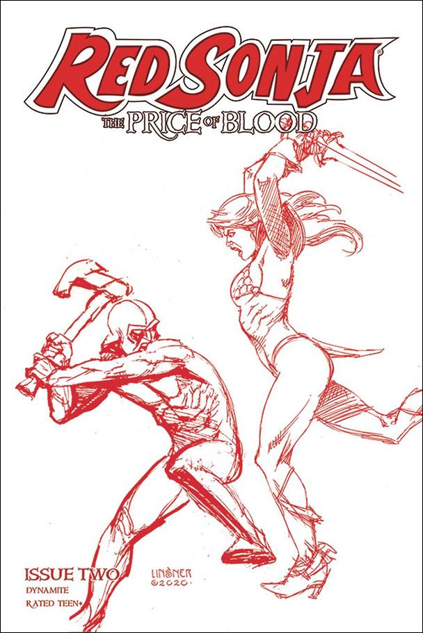 Red Sonja: Price of Blood 2-R by Dynamite Entertainment