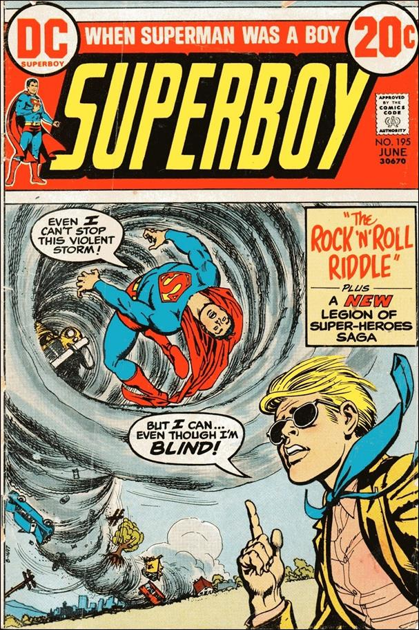 Superboy (1949) 195-A by DC