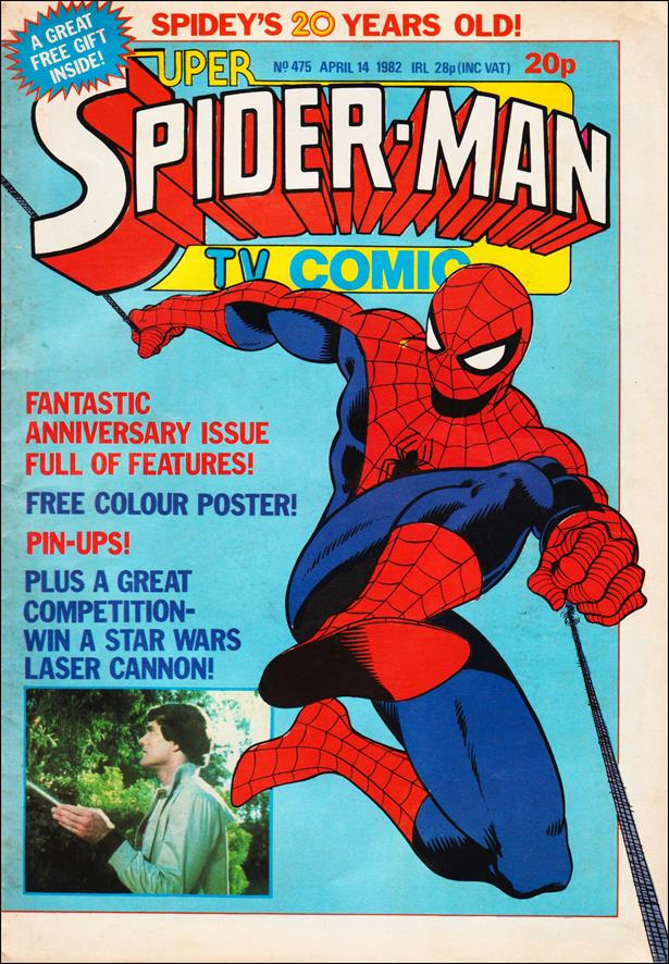 Spider-Man: Comics Weekly (UK) 475-A by Marvel UK