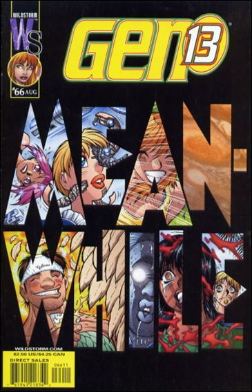 Gen13 (1995) 66-A by WildStorm