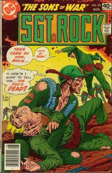 Sgt. Rock (1977) 331-A by DC