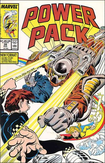 Power Pack (1984) 39-A by Marvel