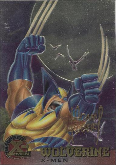 1995 Fleer Ultra X-Men All Chromium (Gold Signature Parallel Base Set) 13-A by Fleer