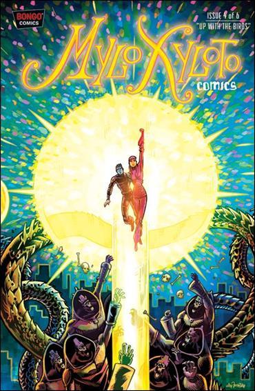 Mylo Xyloto Comics 4-A by Bongo