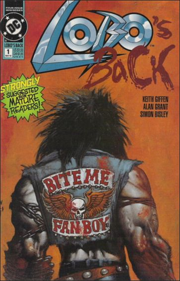 Lobo's Back 1-A by DC