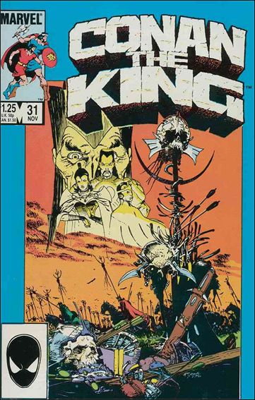 Conan the King 31-A by Marvel