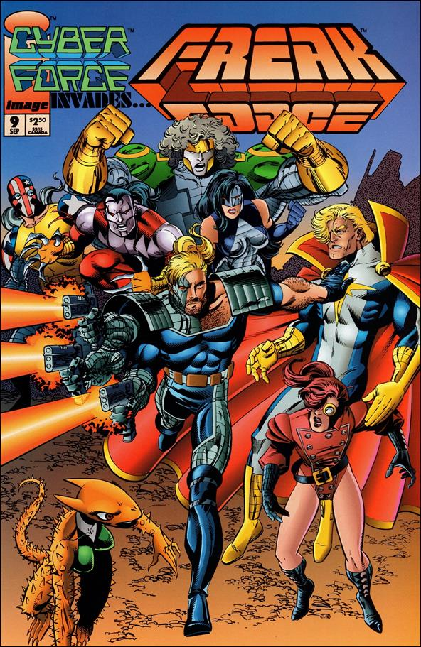 Freak Force (1993) 9-A by Image