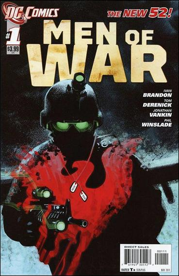 Men of War (2011) 1-A by DC