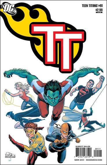 Teen Titans (2003) 91-A by DC