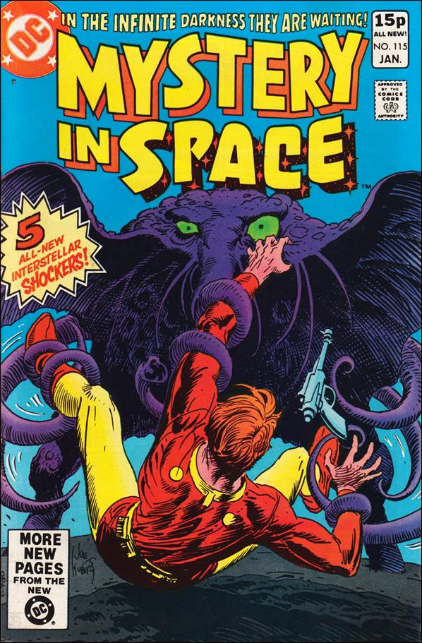 Mystery in Space (1951) 115-B by DC