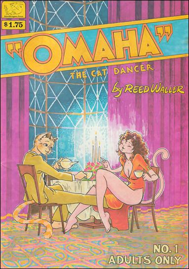 Omaha the Cat Dancer (1984) 1-B by Kitchen Sink