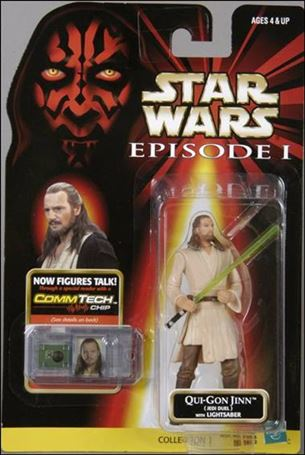 "Star Wars: Episode I 3 3/4"" Basic Action Figures Qui-Gon Jinn (Jedi Duel) (With Logos)"