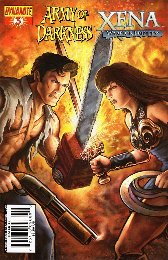 Army of Darkness/Xena 3-A by Dynamite Entertainment