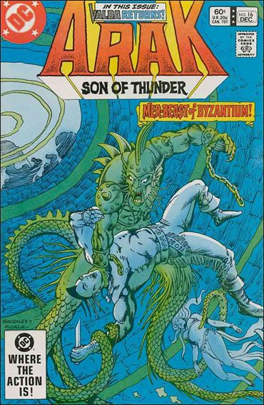 Arak Son of Thunder 16-A by DC