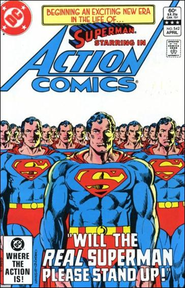 Action Comics (1938) 542-A by DC