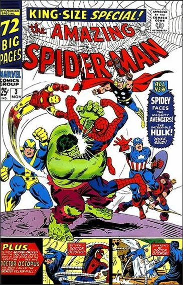 Amazing Spider-Man Annual (1964) 3-A by Marvel