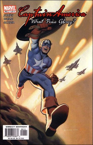 Captain America: What Price Glory 1-A by Marvel