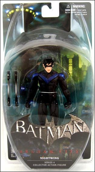 Batman: Arkham City (Series 4)  Nightwing by DC Collectibles