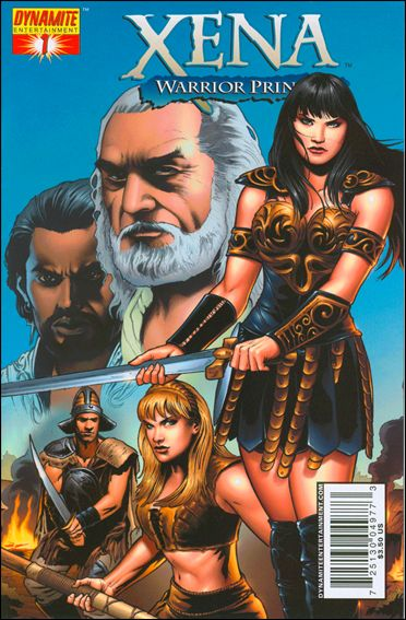 Xena (2006) 1-B by Dynamite Entertainment