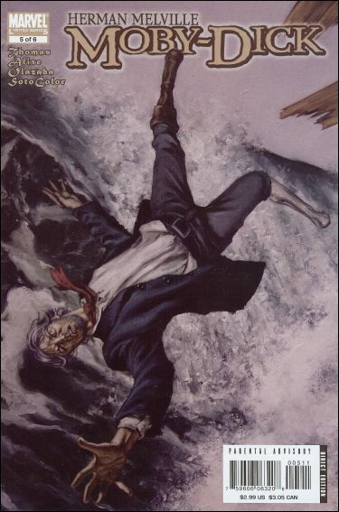 Marvel Illustrated: Moby Dick 5-A by Marvel