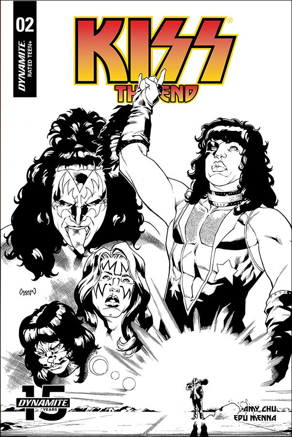 Kiss: The End 2-F by Dynamite Entertainment