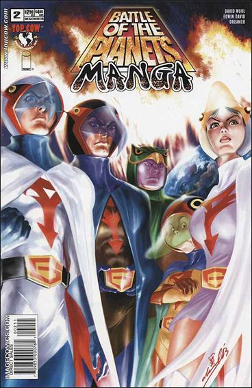 Battle of the Planets: Manga 2-A by Top Cow