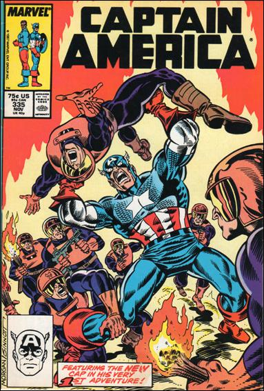 Captain America (1968) 335-A by Marvel